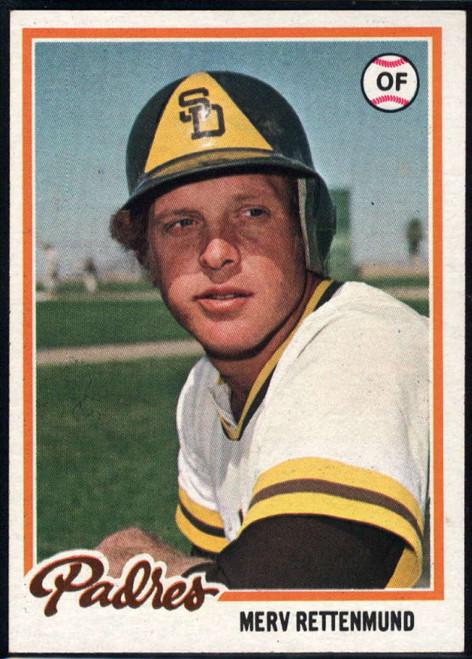 1978 Topps #566 Merv Rettenmund COND San Diego Padres