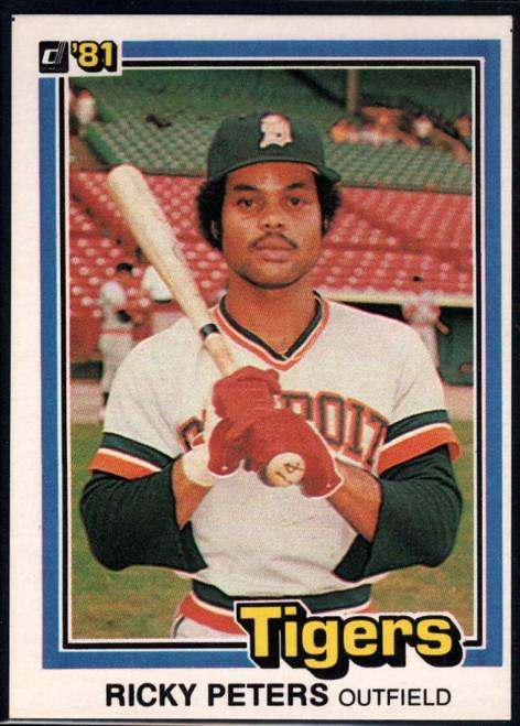 1981 Donruss #10 Rick Peters NM-MT RC Rookie Detroit Tigers