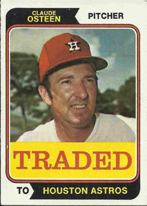 1974 Topps Traded #42T Claude Osteen VG Houston Astros