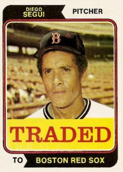 1974 Topps Traded #151T Diego Segui VG Boston Red Sox