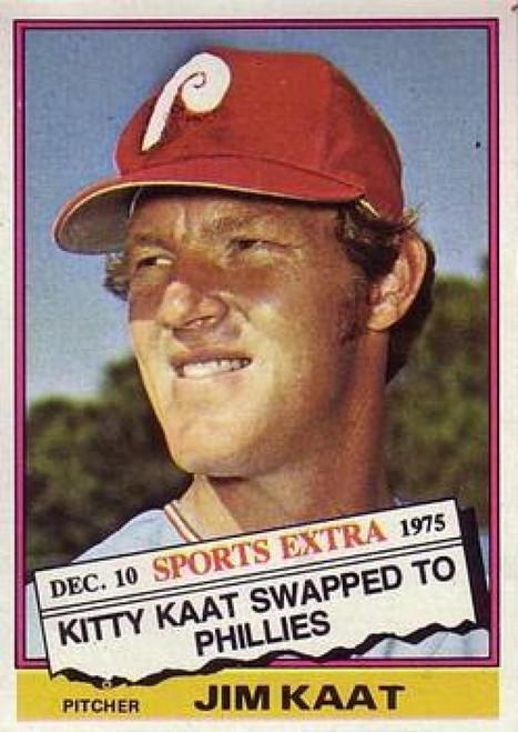 1976 Topps Traded #80T Jim Kaat VG Philadelphia Phillies