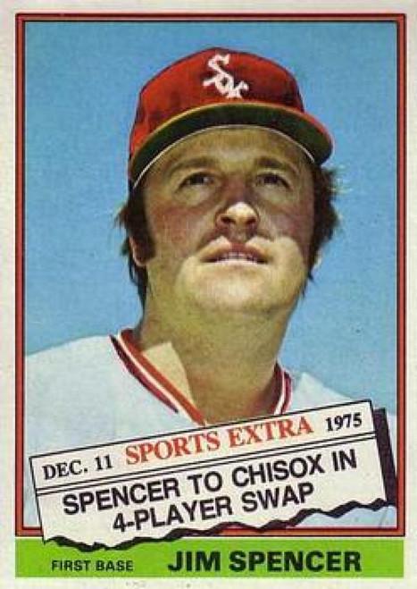 1976 Topps Traded #83T Jim Spencer VG Chicago White Sox