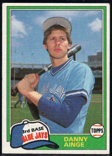 SOLD 94059 1981 Topps Traded #727 Danny Ainge NM-MT RC Rookie Toronto Blue Jays