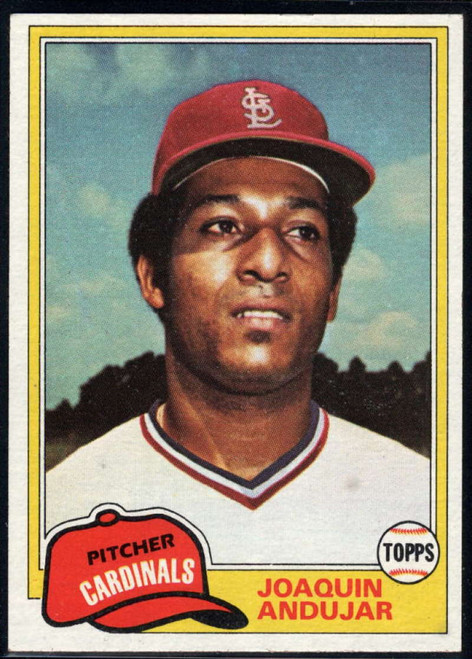 1981 Topps Traded #731 Joaquin Andujar NM-MT St. Louis Cardinals
