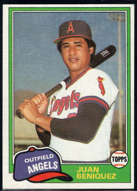 1981 Topps Traded #733 Juan Beniquez NM-MT California Angels