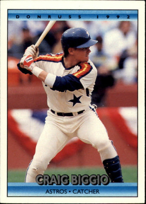 1992 Donruss #75 Craig Biggio VG Houston Astros