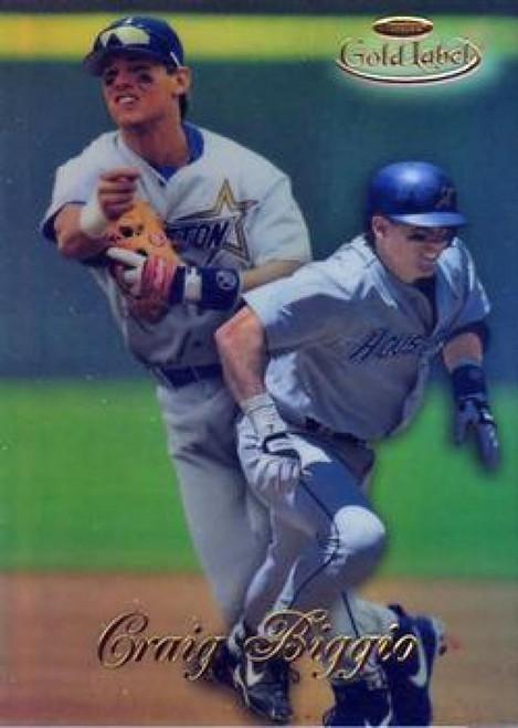 1998 Topps Gold Label Class 1 #5 Craig Biggio NM-MT Houston Astros