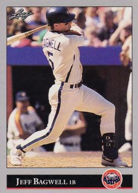 1992 Leaf #28 Jeff Bagwell VG Houston Astros