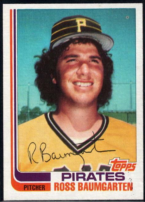 1982 Topps Traded #3T Ross Baumgarten VG Pittsburgh Pirates