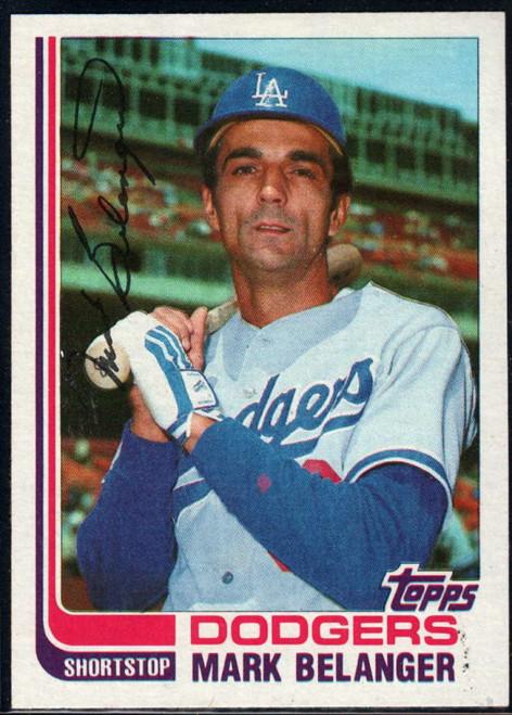 1982 Topps Traded #5T Mark Belanger VG Los Angeles Dodgers