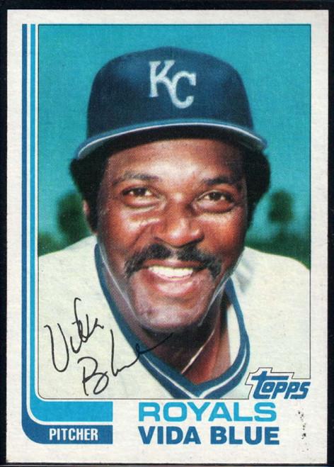 1982 Topps Traded #8T Vida Blue VG Kansas City Royals