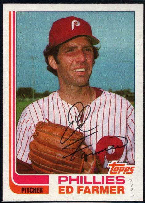 1982 Topps Traded #32T Ed Farmer VG Philadelphia Phillies