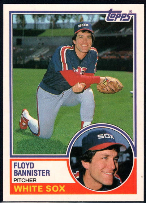 1983 Topps Traded #7T Floyd Bannister VG Chicago White Sox