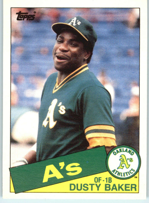 1985 Topps Traded #4T Dusty Baker NM-MT Oakland Athletics