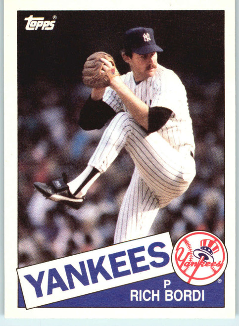 1985 Topps Traded #7T Rich Bordi NM-MT New York Yankees