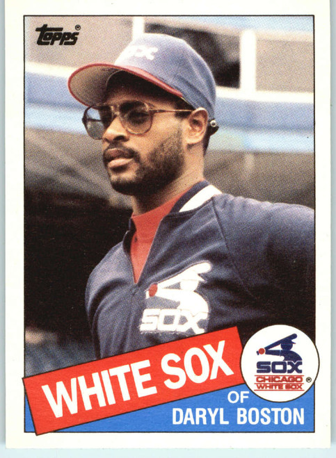 1985 Topps Traded #8T Daryl Boston NM-MT RC Rookie Chicago White Sox