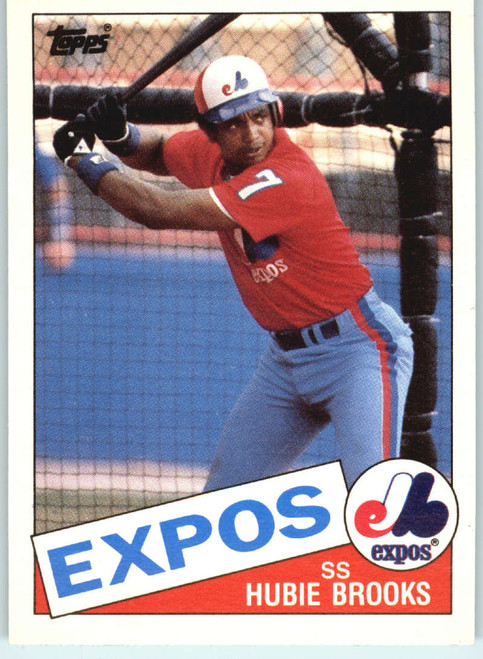 1985 Topps Traded #9T Hubie Brooks NM-MT Montreal Expos
