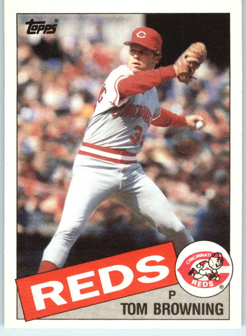 1985 Topps Traded #11T Tom Browning NM-MT RC Rookie Cincinnati Reds