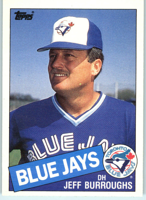 1985 Topps Traded #14T Jeff Burroughs NM-MT Toronto Blue Jays