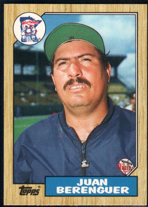 1987 Topps Traded #5T Juan Berenguer NM-MT Minnesota Twins