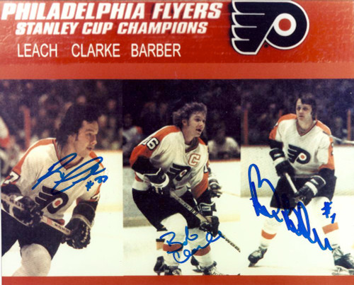 LCB Line Flyers 8 x 10 Photo signed by All 3 Guys