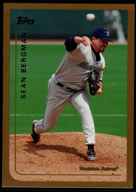 1999 Topps #38 Sean Bergman VG Houston Astros