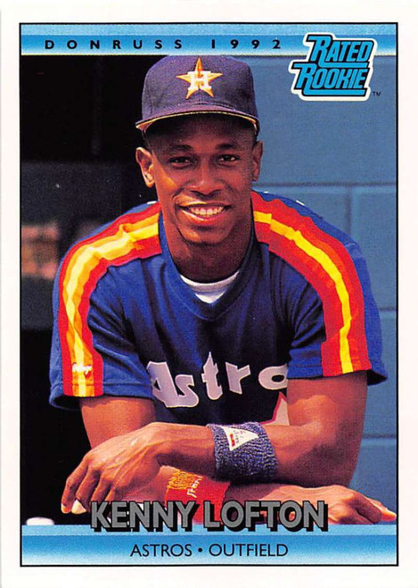 1992 Donruss #5 Kenny Lofton RR VG Houston Astros