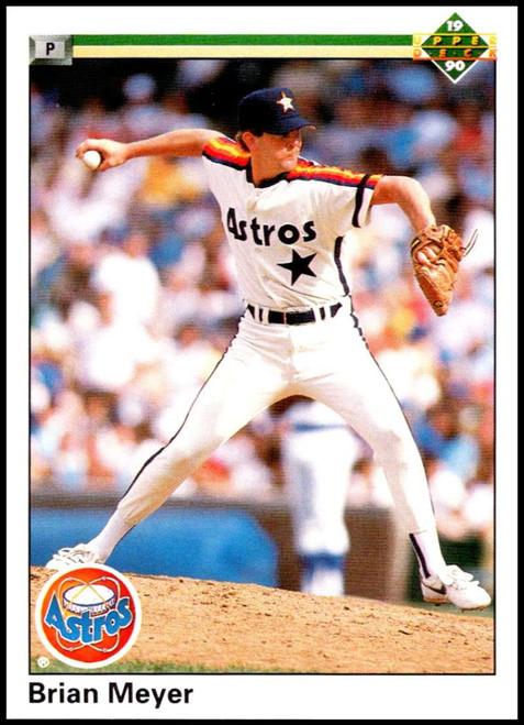1990 Upper Deck #22 Brian Meyer VG Houston Astros