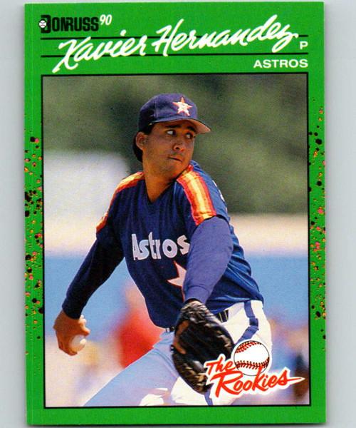 1990 Donruss Rookies #33 Xavier Hernandez VG Houston Astros