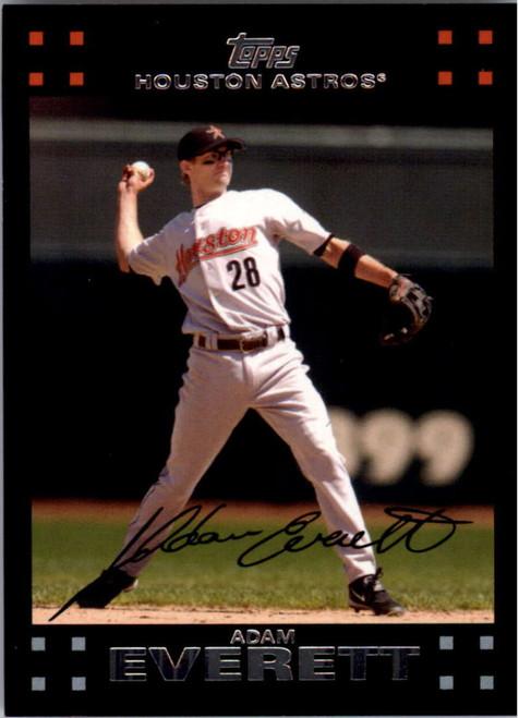 2007 Topps #152 Adam Everett NM-MT Houston Astros