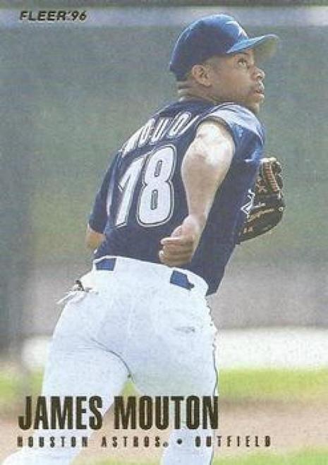 1996 Fleer #417 James Mouton NM-MT  Houston Astros