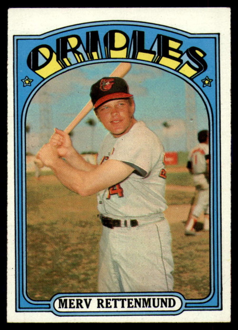 1972 Topps #235 Merv Rettenmund VG Baltimore Orioles