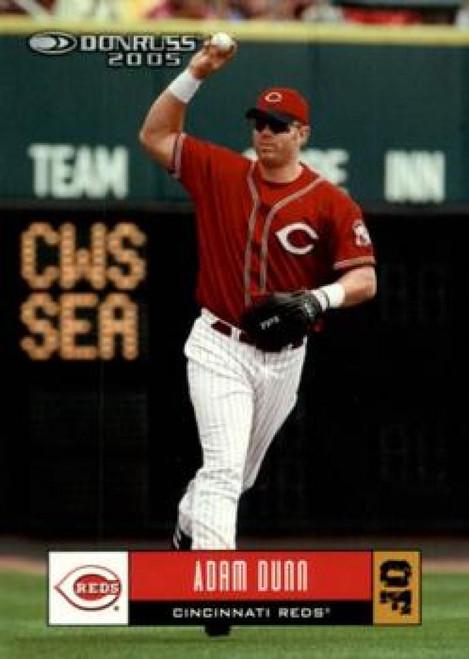2005 Donruss #7 Adam Dunn VG Cincinnati Reds