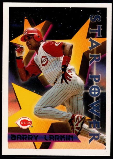 1996 Topps #6 Barry Larkin STP VG Cincinnati Reds