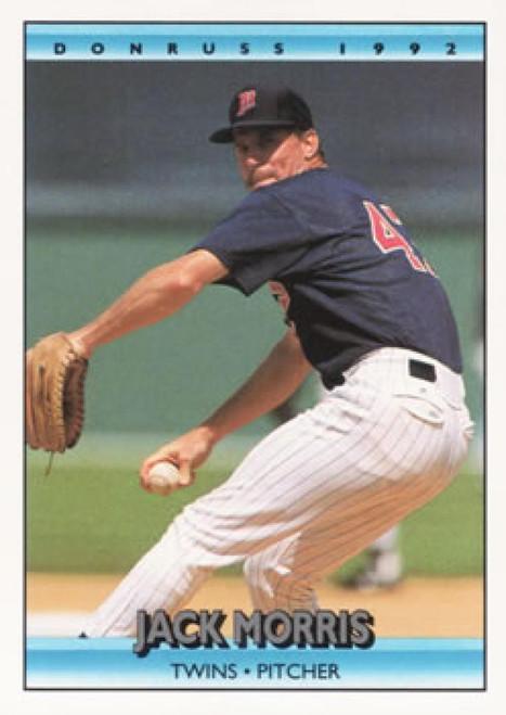 1992 Donruss #25 Jack Morris AS VG Minnesota Twins