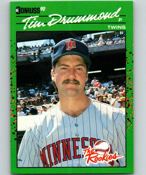 1990 Donruss Rookies #50 Tim Drummond VG Minnesota Twins
