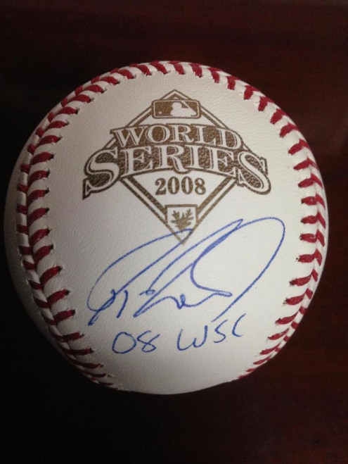 SOLD 2650 Jayson Werth Autographed Rawlings Official 2008 World Series Baseball