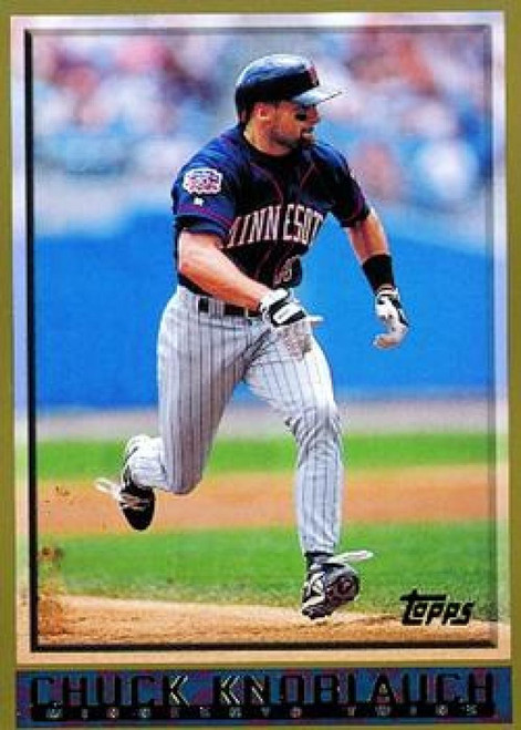 1998 Topps #309 Chuck Knoblauch VG Minnesota Twins