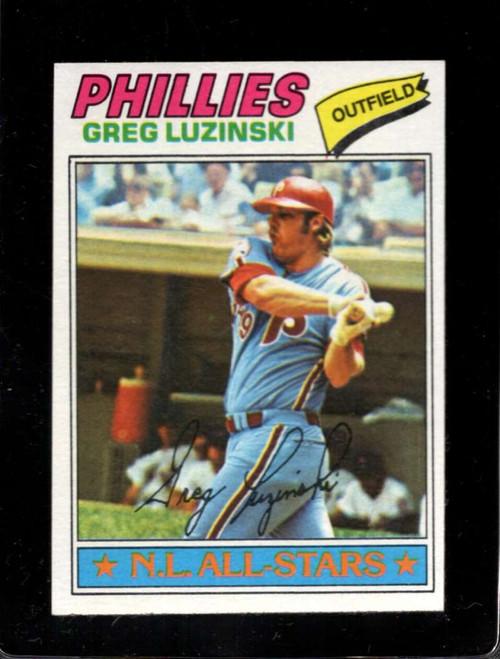 1977 Topps #30 Greg Luzinski VG Philadelphia Phillies