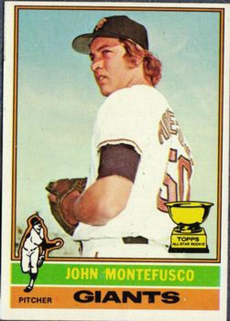 1976 Topps #30 John Montefusco VG RC Rookie San Francisco Giants