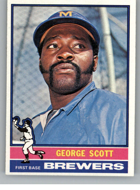 1976 Topps #15 George Scott VG Milwaukee Brewers