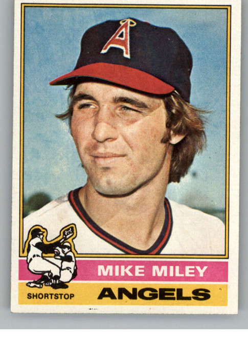 1976 Topps #387 Mike Miley VG RC Rookie California Angels