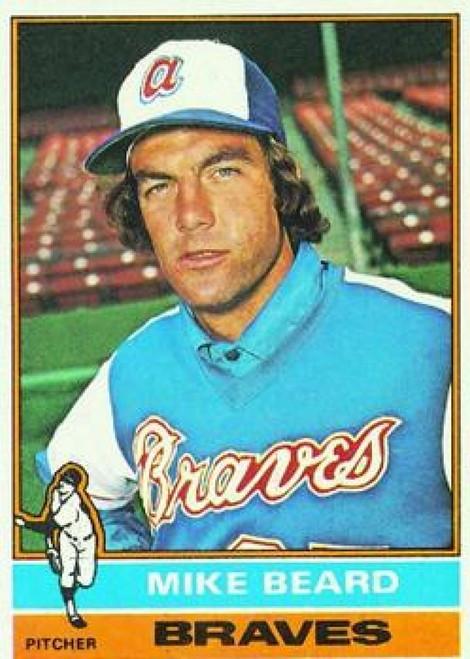 1976 Topps #53 Mike Beard VG RC Rookie Atlanta Braves