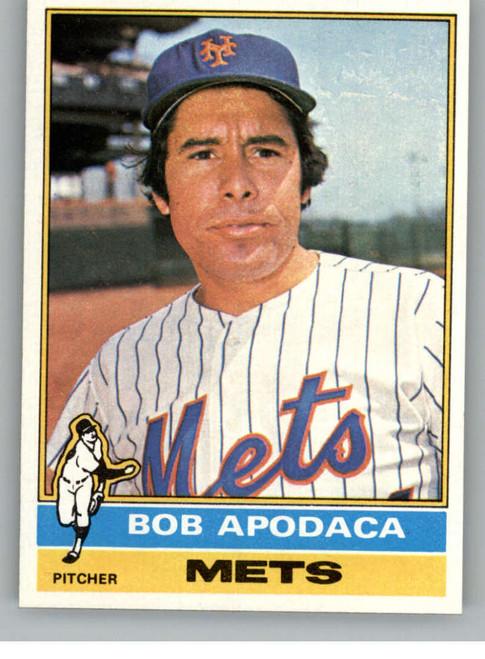 1976 Topps #16 Bob Apodaca VG New York Mets