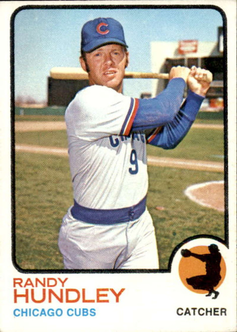 1973 Topps #21 Randy Hundley VG Chicago Cubs