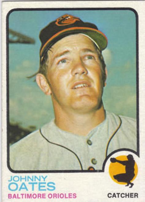 1973 Topps #9 Johnny Oates VG Baltimore Orioles