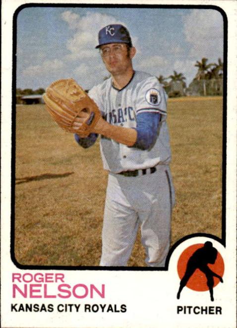 1973 Topps #251 Roger Nelson VG Kansas City Royals