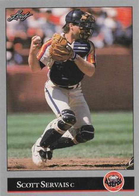 1992 Leaf #121 Scott Servais VG Houston Astros