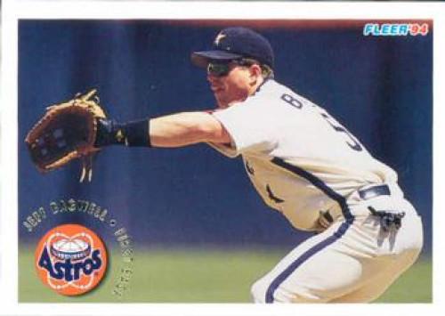 1994 Fleer #483 Jeff Bagwell VG Houston Astros