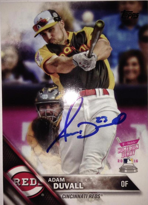 Adam Duvall Autographed 2016 Topps Update #US68